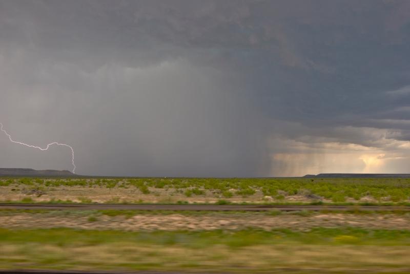 thunderstorm drive lightning