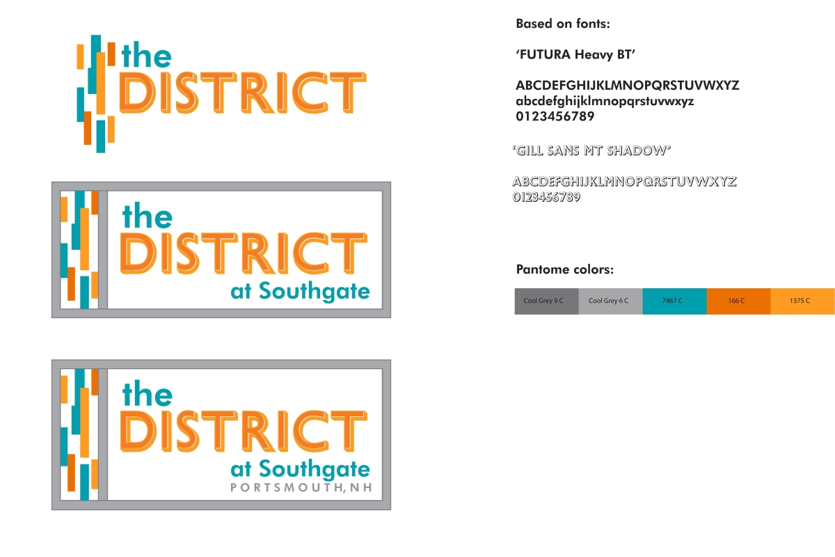 The District Logo